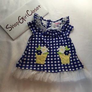 Nannette Kids...Blue Dress...Size 2T